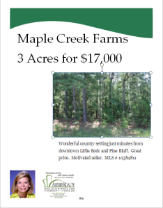 3+ Acres in Maple Creek Farms for $17,000 Total