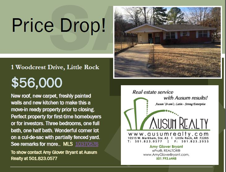 PRICE DROP!!  1 Woodcrest Drive
